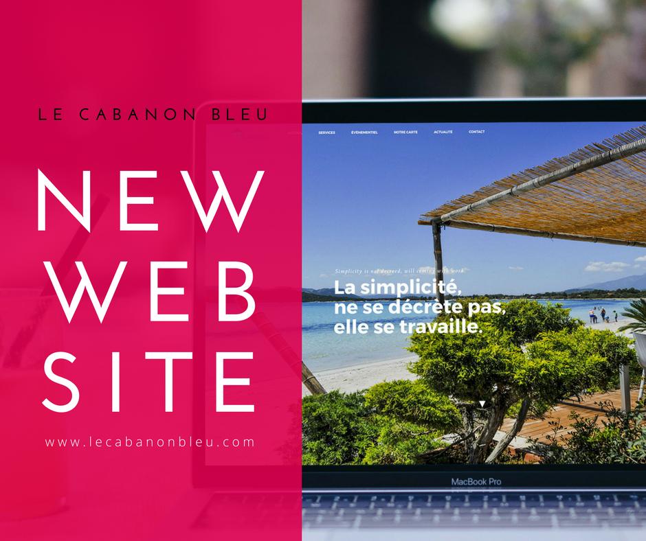 nouveau site internet le cabanon bleu corsicaweb. Black Bedroom Furniture Sets. Home Design Ideas