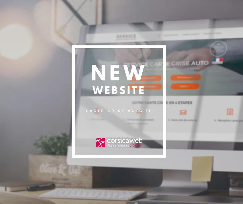 nouveau site internet carte grise auto corsicaweb. Black Bedroom Furniture Sets. Home Design Ideas